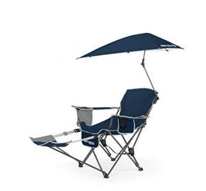 Sport-Brella 3-Position Recliner Chair with Umbrella