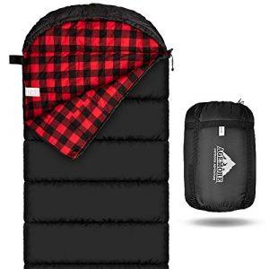Agemore Cotton Flannel Summer Sleeping Bag