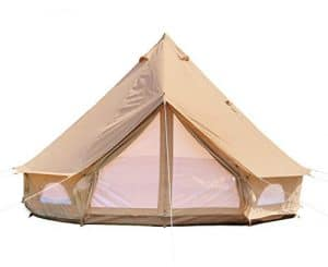 DANCHEL OUTDOOR Cotton Bell Tent with Two Stove Jacket