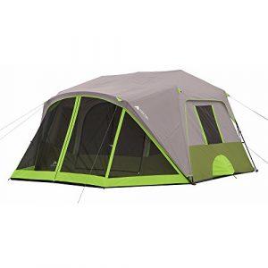 Ozark Trail 9-Person Instant Cabin Tent with Bonus Screen Room