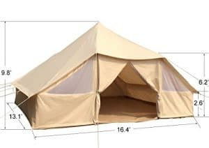 Dream House Large Spacious Outdoor Waterproof Cotton Canvas