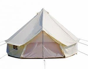 DANCHEL IUTDOOR Four-Season Waterproof Oxford Yurt Bell Tent