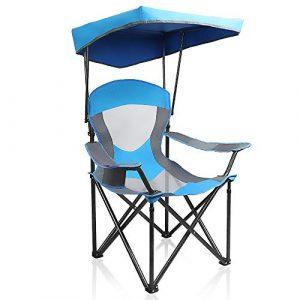 ALPHA CAMP Heavy-duty Canopy Lounge Chair