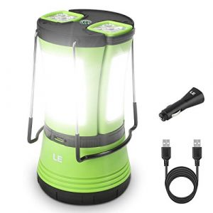 Lighting Ever LED Camping Rechargeable Lantern