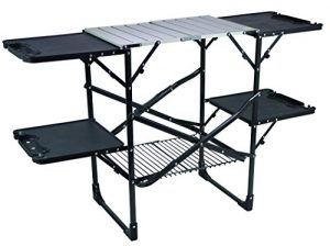 GCI Outdoor Slim-Fold Table Cook Station