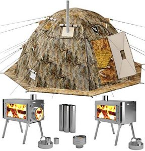 Russian Bear Winter Tent With Stove