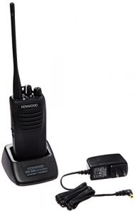 Kenwood TK-3400U16P ProTalk 16 Channel Compact UHF FM 2-Watts Portable Two-Way Radio