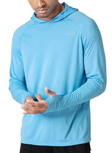 Willit Men's UPF 50+ Sun Protection Hoodie Shirt