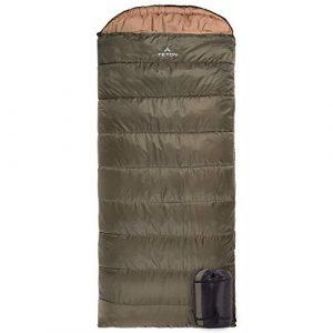 TETON Sports – Best Sleeping Bag for Tall Guys