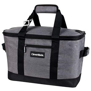CleverMade SnapBasket Tanhoe Collapsible Cooler