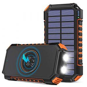 Riapow Solar Charger 26800mAh Power Bank