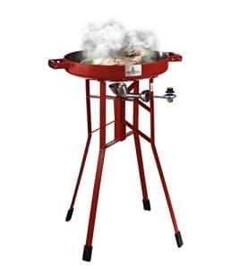 "Original FIREDISC 36"" Tall Outdoor Portable Propane Cooker"